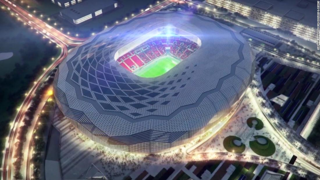 Qatar 2020 world cup completed stadium