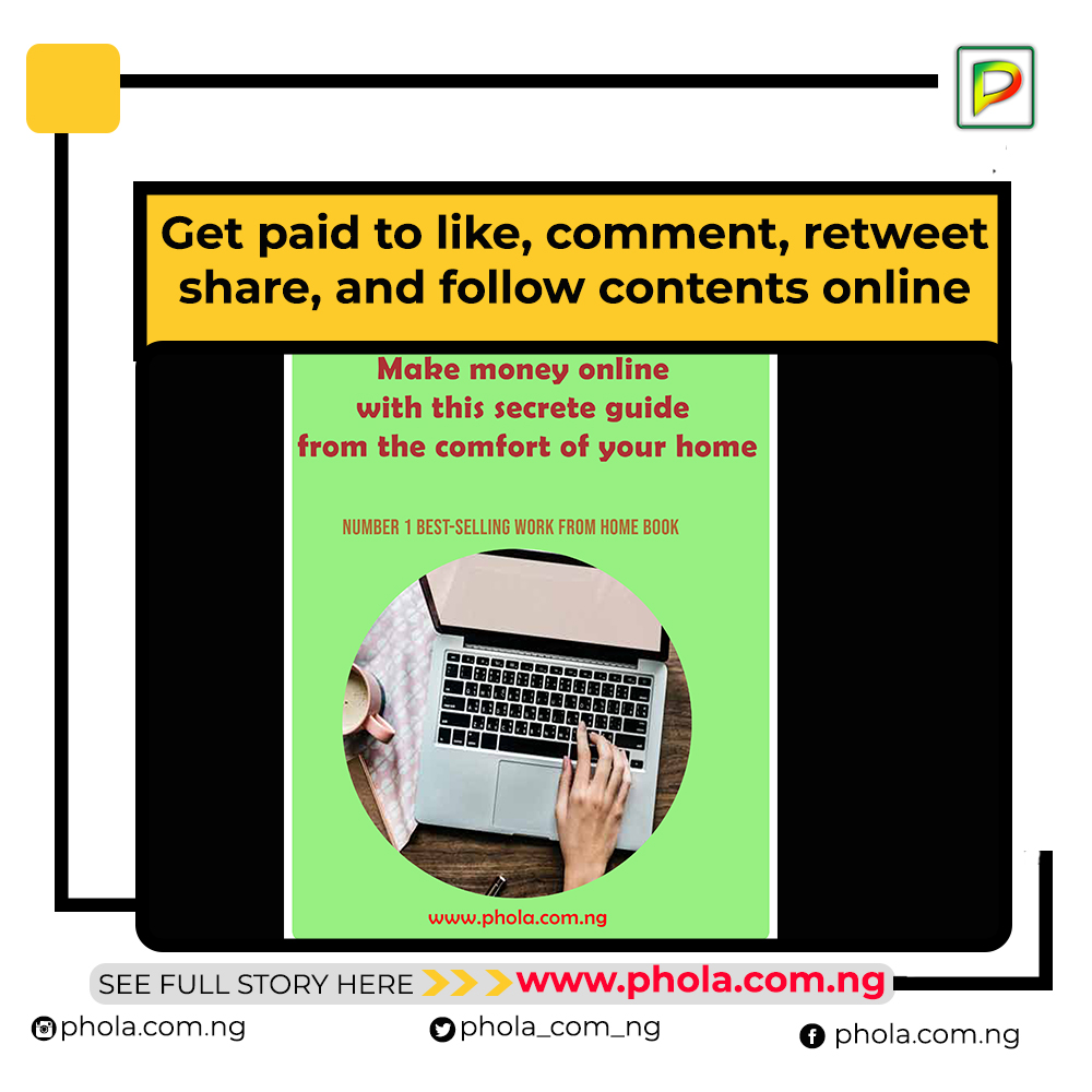 Earn money easily online by liking, sharing and commenting